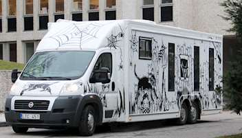 Bild på Bokbussen