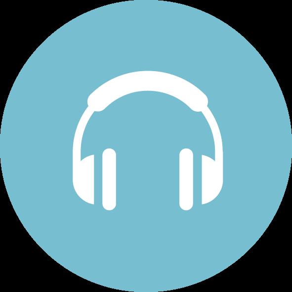 Logga hörlurar